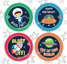 Space Cupcakes, Astronaut Party, Outer Space Party, Party Treats, Party Favors, Space Theme, Party Props, Cupcake Party, Planets