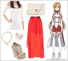 Sword Art Online Asuna Inspired Outfit