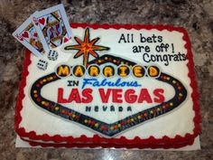 Going to Vegas to get married By mrslivvix on CakeCentral.com