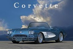 Dave Koontz Artwork Collection: Corvette