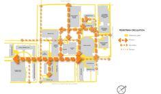 pedestrian circulation diagram