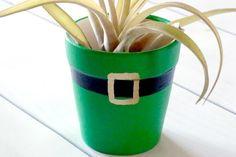 DIY Leprechaun St Patricks Day Pot - Darby Smart