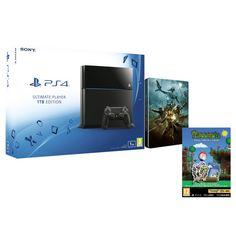 Sony PlayStation 4 1TB - Includes Terraria - Bonus Collector's Edition & The Elder Scrolls Online: Tamriel Unlimited Steelbook