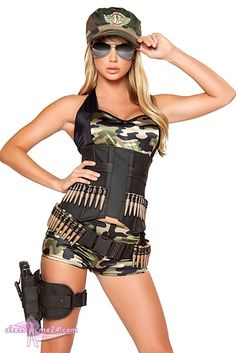 Die 23 Besten Bilder Von Kostüme Für Fasching Army Girls Gowns