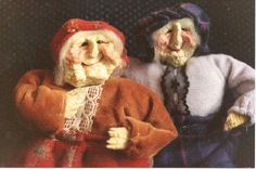 Apple dolls, how to make apple dolls, purchase dolls, witches- instructions by Pamela Matson