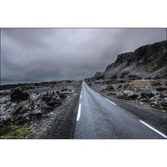 Photograph  Ian Cox @wallkandy 'Storm Clouds Ahead' on the road to #Hamningberg amidst this dramatic landscape. #Wallkandy #travel #Vardø #norway #moonscape #stormclouds #BarentsSea #Båtsfjord #Feb #f #t #p