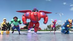 Big Hero 6 Movie High Definiton Backgrounds - http://wallucky.com/big-hero-6-movie-high-definiton-backgrounds/