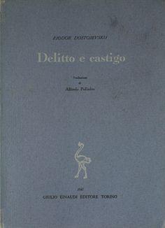 Dostojevskij Fjodor-DELITTO E CASTIGO