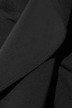 Veronica Beard - Kingston One-shoulder Ruffled Cady Mini Dress - Black