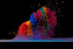 500px / Photo Dancing Colors No.4 by Fabian Oefner