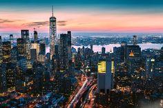 Above New York by @austin_paz
