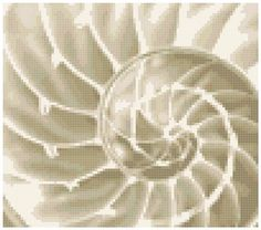Soft swirls  A Counted Cross Stitch Pattern by WooHooCrossStitch, $9.00