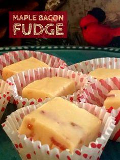 Recipe: Maple Bacon Fudge  http://www.twohensandtheirchicks.com/recipe-maple-bacon-fudge.html