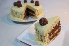 ferrero rocher raffaello cake/ Monica Wada/ Wada Wonderful World