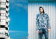 "After the success of their first collaboration on the Bluefield project, BWGH and Puma are back for the launch of the ""JOY"" collection and present its first color range named ""Darkshadow"", with a. Fall Winter 2014, Puma, Hypebeast, Sneakers, Spring Summer, Summer 2014, Sportswear, Raincoat, Street Wear"