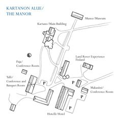 The Map of the Manor area