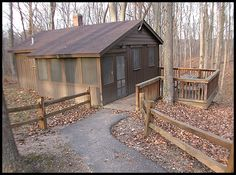 Indiana-McCormick Creek State Park (cabins)