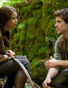 The Hunger Games... So looking forward to the movie... Because the books were AMAZING. READ IT IF YOU HAVEN'T!!!