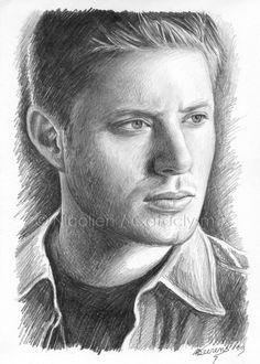 Dean Winchester sketch by Cataclysm-X on deviantART