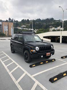 Custom 2017 Jeep Patriot. Jeep Patriot Lifted, Jeep Wk, Mom Mobile, 4x4 Van, Jeep Mods, Black Jeep, Pt Cruiser, Custom Jeep, Us Cars
