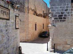 A Porsche in the alley, Mdina, Malta