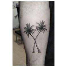 Dr. Woo's Palm Tree Tattoos