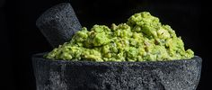 Hugh Acheson upgrades traditional guacamole with a smoky flair and toasted pecans for crunch and a decidely Southern finish.
