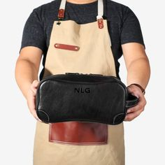 Personalized, Dopp Kit Bag, Groomsmen Gift, Leather Shaving Kit, Leather Toiletry Bag, With Monogram, Mens Toiletry Bag, Leather Custom Backpack Purse, Crossbody Bag, Satchel Bag, Leather Suspenders, Leather Duffle Bag, Dopp Kit, Black Purses, Purses For Sale, Toiletry Bag