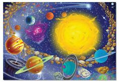 Melissa & Doug 100 Piece Solar System Jigsaw Puzzle