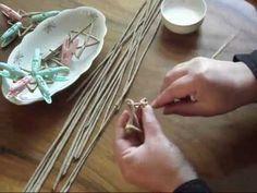 papierové pletenie - hviezda (pomalší postup)