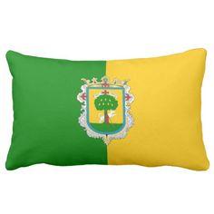 Flag Of Zapopan (Mexico) Pillow