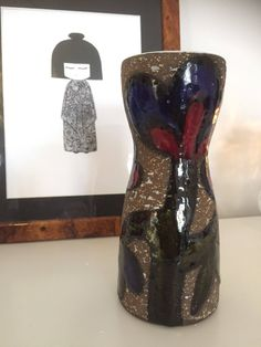 Upsala Ekeby ceramic vase designed by Mari Simmulson cardus series /cactus flowers series Ceramic Vase, Her Style, Red And Blue, Cactus, My Etsy Shop, Ceramics, Flowers, Vintage, Design