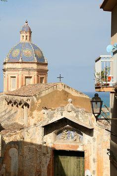 Termini Imerese, Sicily, Italy. Near Palermo, this town was the home of my husband's grandparents.