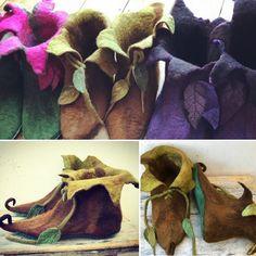 Elf Costume, Cosplay Costumes, Costume Ideas, Mushroom Costume, Woodland Fairy Costume, Frozen Musical, Diy Fairy Wings, Elf Slippers, Renaissance Fair