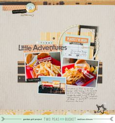 The Little Things : Yummy Little Adventures by scrappyJedi @2peasinabucket