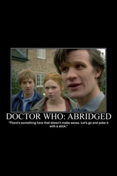Doctor Who in a nut shell!
