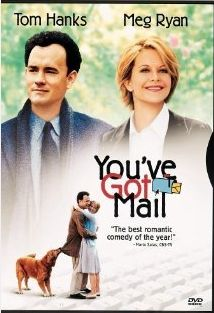 A book store, a love story, New York City, Meg Ryan and Tom Hanks. I love Tom Hanks & Meg Ryan movies. I could (and do) watch every year. Meg Ryan, Beau Film, Best Romantic Comedies, Romantic Movies, Chick Flicks, See Movie, Film Movie, Comedy Movies, Funny Movies
