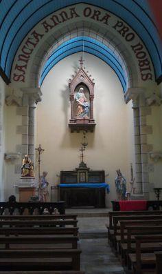 Chapelle Saint-Anne - Ploneis  (pardon le deuxième dimanche de juillet)   Finistère Bretagne