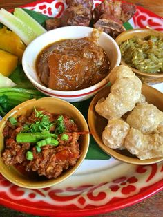 Northern style! so delicious and don't forget to try when you travel to #Chiangmai #Thailand