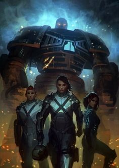 Futuristic Warrior Art | , Future, Futuristic, Girl Power, Girl Warrior, Robot, Futuristic ...