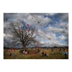 The Kite Eating Tree Print