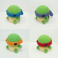 Teenage Mutant Ninja Turtles by Heartstringcrochet