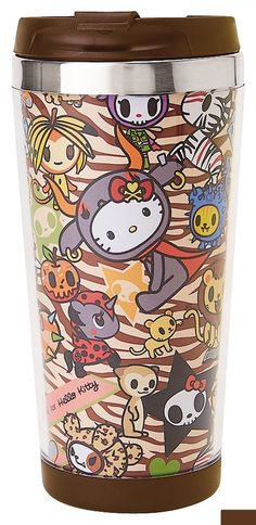 tokidoki x Hello Kitty Safari Stainless Steel Mug
