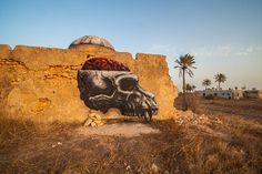 Roa (Belgium) #streetart #erriadh #djerba #tunisia #spray