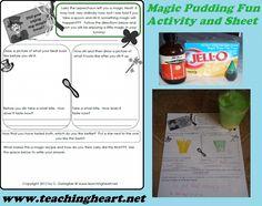 Leprechaun Pudding with Free Printable
