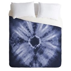 Buy Duvet Cover with Tie Dye Navy designed by Amy Sia. One of many amazing home décor accessories items available at Deny Designs. Bedding Sets Online, Mattress Protector, How To Dye Fabric, Dream Bedroom, Shibori, Home Decor Accessories, Luxury Bedding, Linen Bedding, King Size