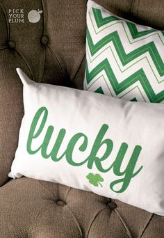 The Decor of the Irish - St. Patrick's Day Pillows