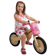 The Runna Balance Bike is adorable - and clever. Click on the image to read more about it!