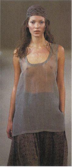 1993 - Calvin Klein show - Kate Moss