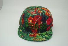 First verse apparel green flower hat Flower Hats, Green Flowers, Snapback, Baseball Cap, Baseball Hat